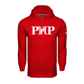 Under Armour Red Performance Sweats Team Hoodie-PHP