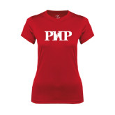 Ladies Syntrel Performance Red Tee-PHP