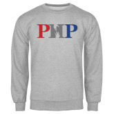 Grey Fleece Crew-PHP