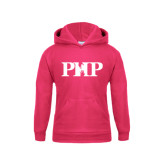 Youth Raspberry Fleece Hoodie-PHP