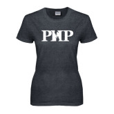 Ladies Dark Heather T Shirt-PHP