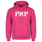 Fuchsia Fleece Hood-PHP