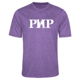 Performance Purple Heather Contender Tee-PHP
