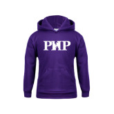 Youth Purple Fleece Hoodie-PHP