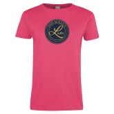 Ladies Fuchsia T Shirt-PHP Ladies Foil