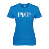 Ladies Sapphire T Shirt-PHP Foil