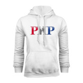 White Fleece Hoodie-PHP