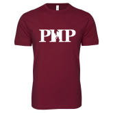 Next Level SoftStyle Maroon T Shirt-PHP