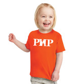 Toddler Orange T Shirt-PHP