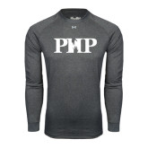 Under Armour Carbon Heather Long Sleeve Tech Tee-PHP
