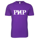 Next Level SoftStyle Purple T Shirt-PHP