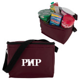 Six Pack Maroon Cooler-PHP