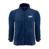 Fleece Full Zip Navy Jacket-PHP