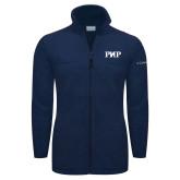 Columbia Full Zip Navy Fleece Jacket-PHP