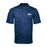 Navy Mini Stripe Polo-PHP