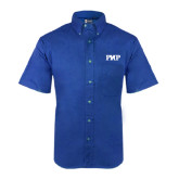 Royal Twill Button Down Short Sleeve-PHP