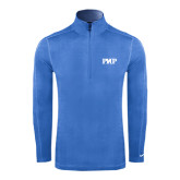 Nike Sphere Dry 1/4 Zip Light Blue Cover Up-PHP
