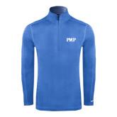 Nike Sphere Dry 1/4 Zip Light Blue Pullover-PHP
