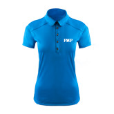 Ladies Ogio Sapphire Blue Pleated Back Polo-PHP