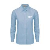 Ladies Light Blue Oxford Shirt-PHP