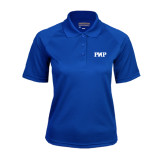 Ladies Royal Textured Saddle Shoulder Polo-PHP