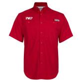 Columbia Bonehead Red Short Sleeve Shirt-PHP