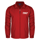 Full Zip Red Wind Jacket-PHP