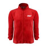 Fleece Full Zip Red Jacket-PHP