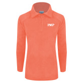 Columbia Ladies Half Zip Coral Fleece Jacket-PHP