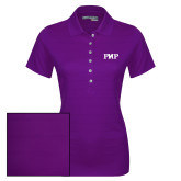 Ladies Callaway Opti Vent Purple Polo-PHP
