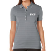 Ladies Callaway Opti Vent Steel Grey Polo-PHP