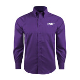 Red House Purple Long Sleeve Shirt-PHP