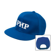 Royal Flat Bill Snapback Hat-PHP