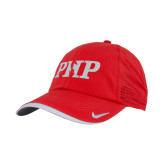 Nike Dri Fit Red Perforated Hat-PHP