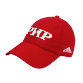 Adidas Red Slouch Unstructured Low Profile Hat-PHP