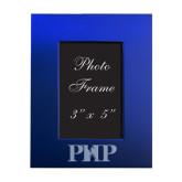 Royal Brushed Aluminum 3 x 5 Photo Frame-PHP Engraved