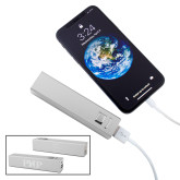 Aluminum Silver Power Bank-PHP Engraved