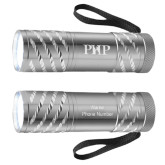 Astro Silver Flashlight-PHP Engraved