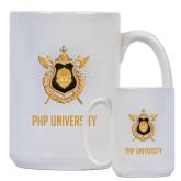 Full Color White Mug 15oz-PHP University