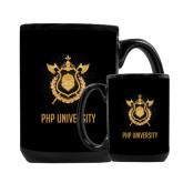 Full Color Black Mug 15oz-PHP University