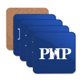 Hardboard Coaster w/Cork Backing 4/set-PHP
