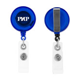 Blue Retractable Badge Holder-PHP