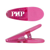 Pink Crocodile Clip/Magnet-PHP