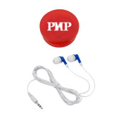 Ear Buds in Red Case-PHP