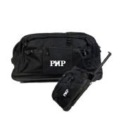Urban Passage Wheeled Black Duffel-PHP