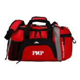 High Sierra Red/Black Switch Blade Duffel-PHP