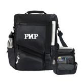 Momentum Black Computer Messenger Bag-PHP