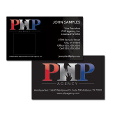 Black Business Cards w/Photo-PHP