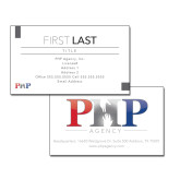 White Business Cards-