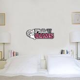 1 ft x 2 ft Fan WallSkinz-PhilaU Rams